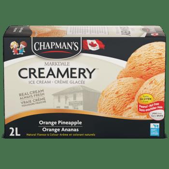 Chapman's Original Orange Pineapple Ice Cream
