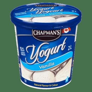 Chapman's Vanilla Frozen Yogurt