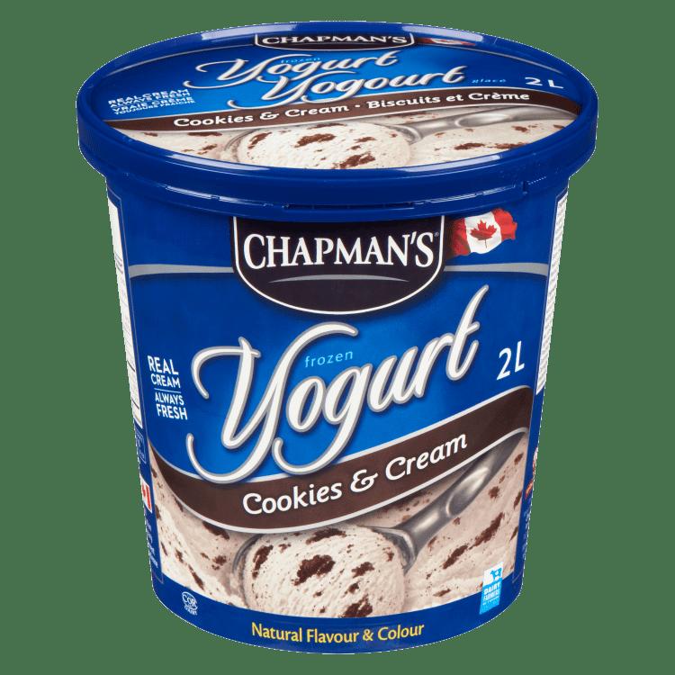 Chapman's Cookies & Cream Frozen Yogurt