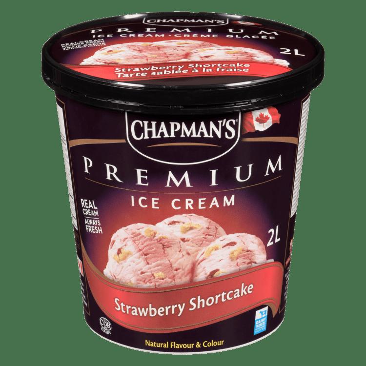Chapman's Premium Strawberry Shortcake Ice Cream