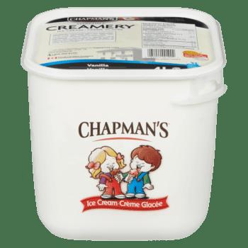 Chapman's Original Vanilla Ice Cream 4L tub