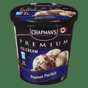Chapman's Premium Peanut Parfait Ice Cream 2L tub