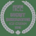 Le logo le plus innovant du prix des glaces IICC