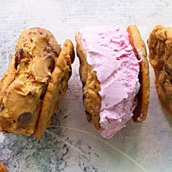 Chapman's Easy Recipe creation Ice Cream Cookie Sandwiches
